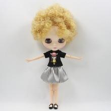 Neo Blythe Doll Black Shirt With Skirt