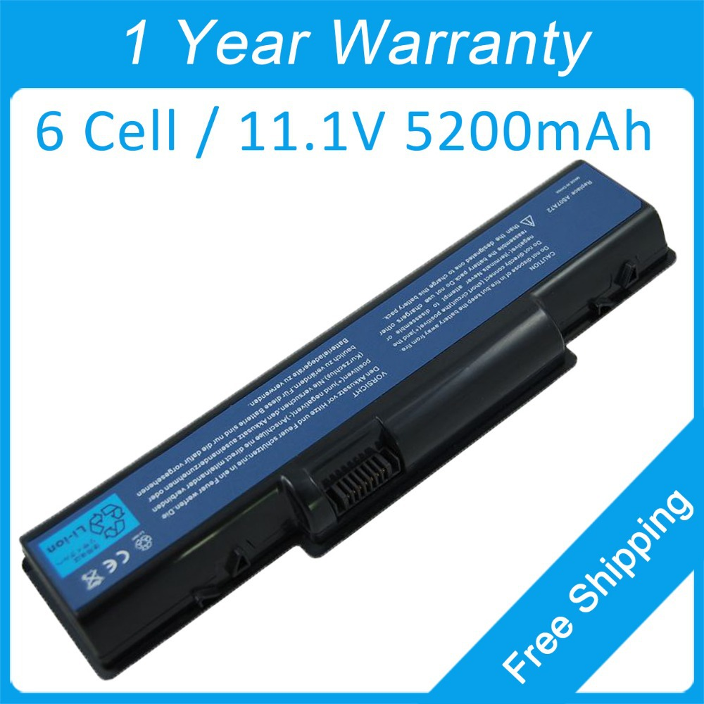 6 cell laptop battery for <font><b>acer</b></font> Aspire 4235 4330 4332 4535 4710 <font><b>4736</b></font> 4740 AS07A42 BT.00603.036 BT.00603.037 free shipping image