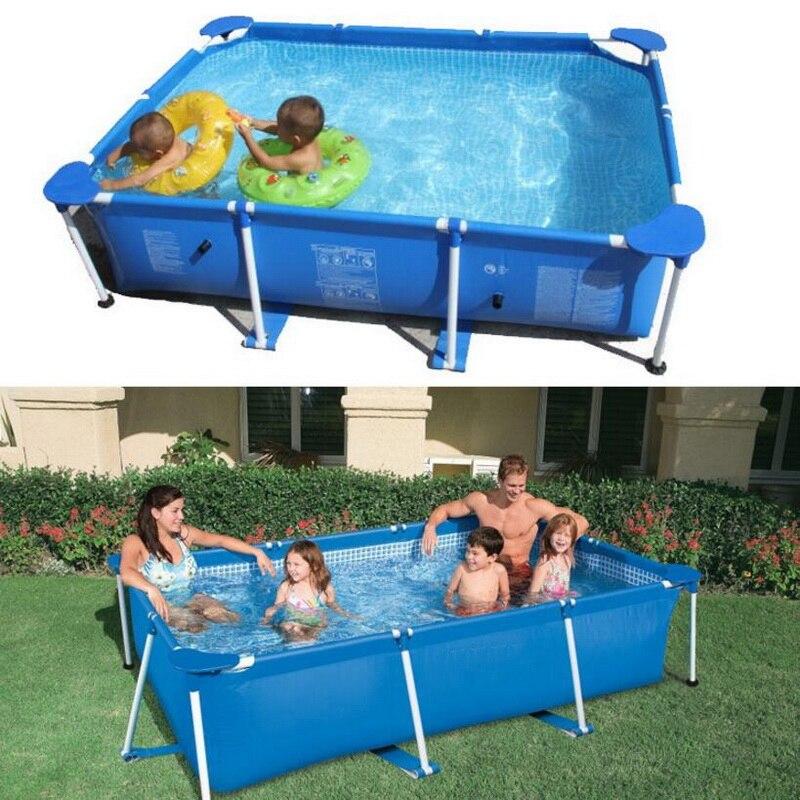Piscine extérieure, grand tuyau rack poissons étangs, enfants de la maison toile support démontage cadre piscine. - 2