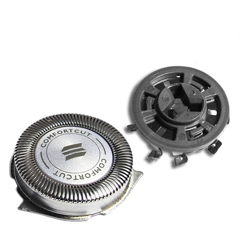 Купить с кэшбэком 3pcs Shaver Blade Razor Replacement Shaver Head for Philips Norelco SH30/52 Series 1000 2000 3000 HQ64 PT720 PT724 S5010 PT722
