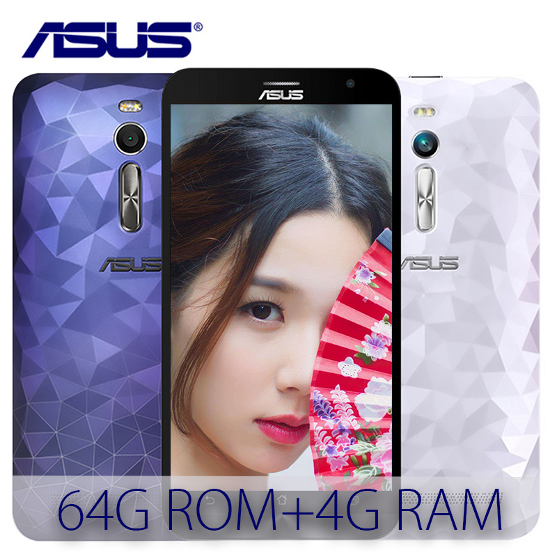 ASUS Zenfone 2 Deluxe ZE551ML 64GB ROM 4GB RAM Intel Z3580 2.3GHz Dual SIM Android 5.0 Quad Core 3000mAh 4G LTE Mobile phone