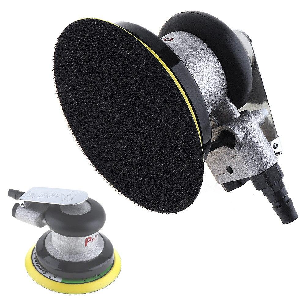 5 Zoll Nicht vakuum Matte Oberfläche Rund Pneumatische Schleifpapier Gelegentliche Orbital Luftschleifer Poliert Schleifmaschine Handwerkzeuge