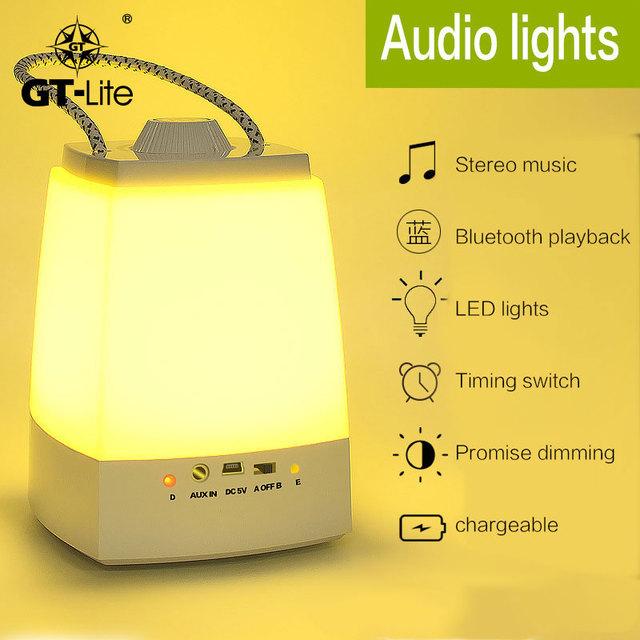 GT-Lite Led Protección Ojos Lámpara de Escritorio Juego de Sincronización de Música Dimmer interruptor de Seguridad de Inteligencia Bluetooth Luces de La Noche de Luz de Lectura