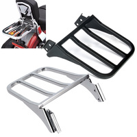 Motorcycle Rear Sissy Bar Luggage Rack For Harley Sportster 883 1200 XL 2004 , Dyna Low Rider, Heritage Softail, Fat Street Boy