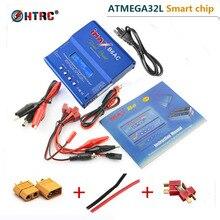 HTRC iMAX B6 AC B6AC 80 Вт 6A двойной RC Баланс Батарея зарядное утсройство никель-металлогидридные батареи Батарея с цифровым ЖК-дисплей Экран