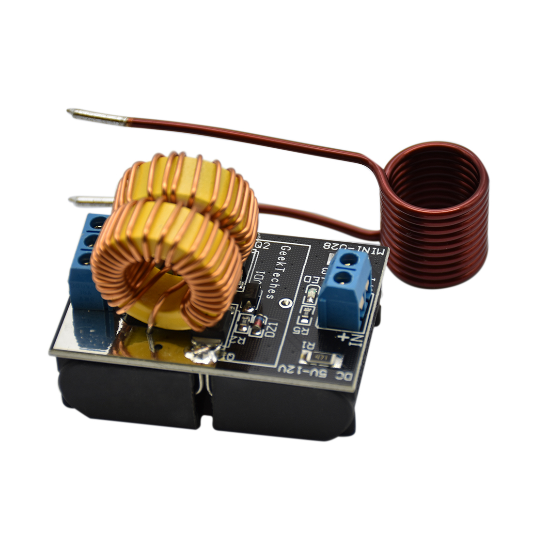 5V~12V Zero Voltage Switching ZVS Induction Heating Power Supply Module With Coil Power Supply Heating Power Supply Module