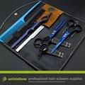 """5.5 """"JP440C парикмахерская ножницы для стрижки волос комплект прическа парикмахерские истончение ножницы горячей профессиональных ножниц для стрижки"""