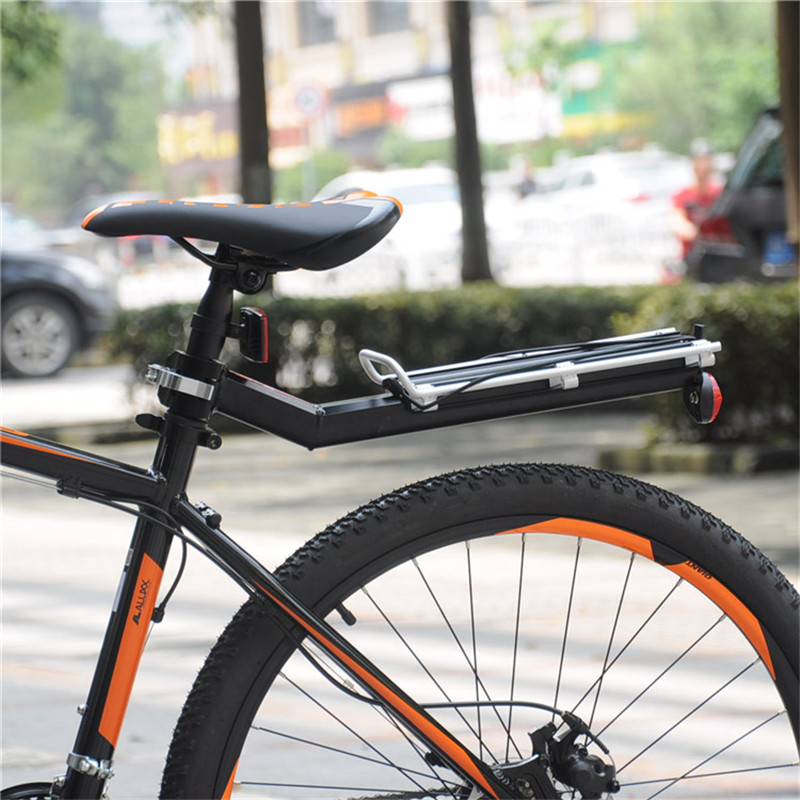 Soul Travel Quick Release Bicycle Racks Rear Luggage Carrier Bike Cargo Rack Aluminum Single-vehicle Back Shelf Accessories New