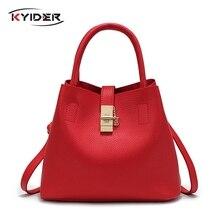 KYIDER 2019 Vintage Womens Handbags Famous Fashion Brand Candy Shoulder Bags Ladies Totes Simple Trapeze Women Messenger Bag