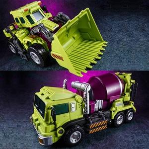 Image 5 - Jinbao GT Devastator Transformation G1 Oversize 6 IN1 Bonecrusher Scrapper Haul Mixmaster Hook KO Action Figure Robot Toys Gifts