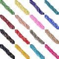 4mm 110 pcs AB cores Escolher a Cor Bicone Solta Pérolas de Vidro de Cristal Facetado Rondelle Bead para fazer Jóias