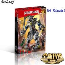 New Ninjagoes Titan's Samurai The Oni Titan Set Compatible With LegoINGLY Ninjagoes Building Blocks Bricks Toys Children Gifts