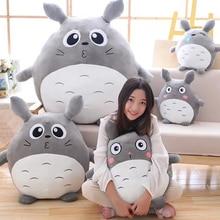 Fancytrader Japan Anime Totoro Plush Toy Giant 90cm Cute Cartoon Stuffed Totoro Doll Kids Pillow Baby Bedroom Decoration