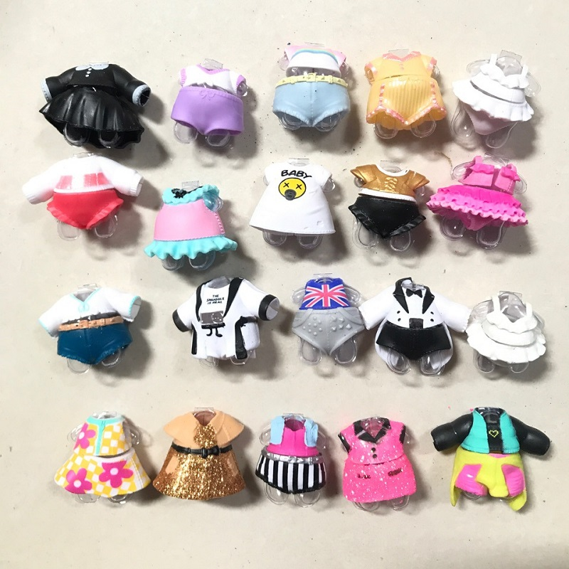 5pcs/set LoLs Doll Clothes Lol Girl Gift Toys Accessories Doll Clothes Lol For Dolls lols Accessories Dress 5Pcs Different Style
