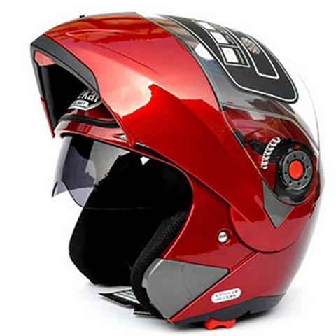 JIEKAI105 Motorcycle helmets Dual Visor Modular Flip Up Helmet Racing Motocross Helmets DOT ECE Sticker M-XXL Motorcycle Helmet Multan
