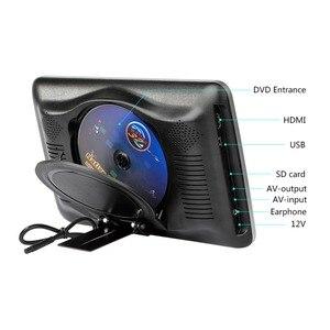 """Image 5 - 10.1 """"1024*600 자동차 머리 받침 모니터 DVD 비디오 플레이어 휴대용 자동차 TV 모니터 USB, SD, HDMI, IR, FM TFT LCD 터치 버튼 게임"""