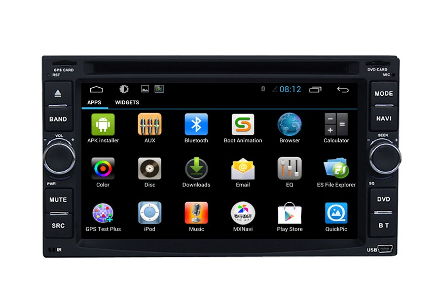 6213 Universal Android 2 din car dvd gps system