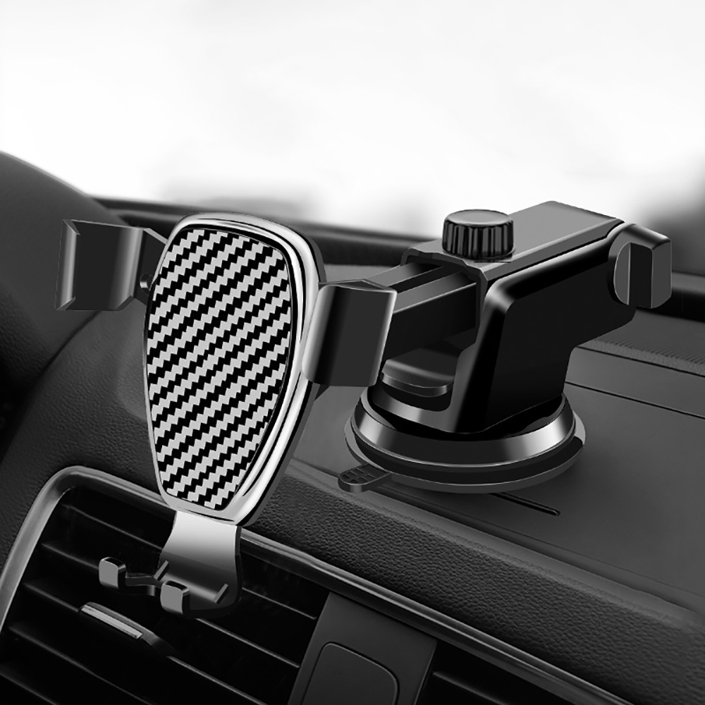 Universal Car Phone Holder Automotive Windshield Dashboard Gravity Smartphone Mount Stand Car Mobile Phone Bracket Accessories