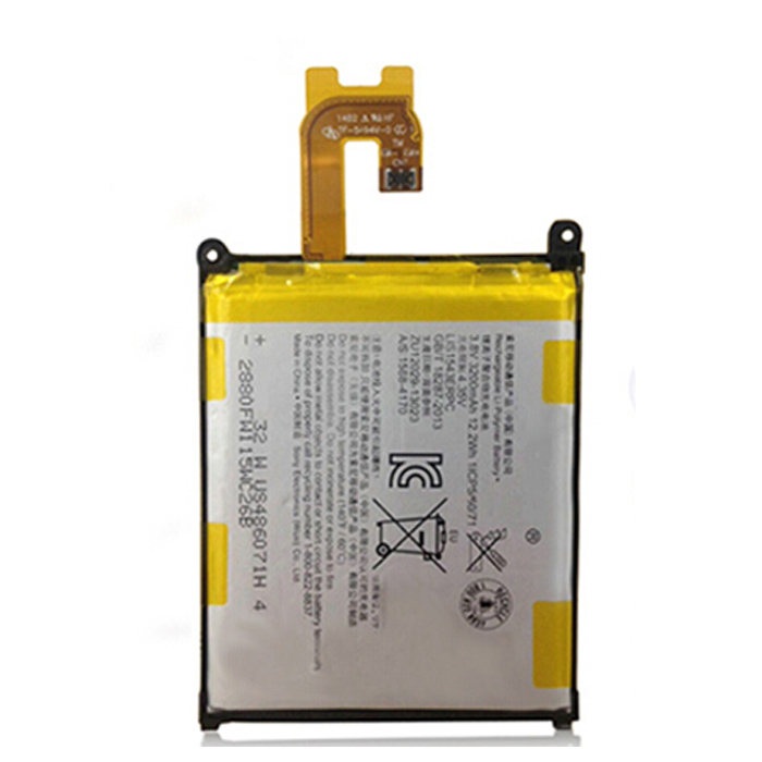 100% Genuine Original OEM 3200mAh Phone Battery For Sony Xperia Z2 D6502 D6503 L50W D6543 L50T: