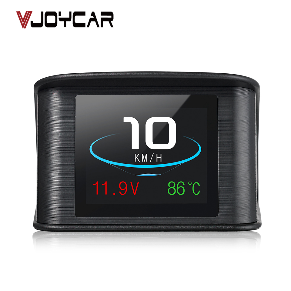 VJOYCAR Hud OBD Computer Auto Geschwindigkeit Projektor Digitaltacho Display Kraftstoffverbrauch Temperaturanzeige Diagnosewerkzeug