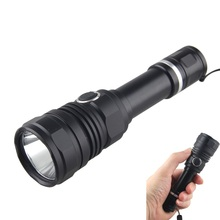 цена на Rechargeable Hunting FlashLight Set Powerful Lumens 5 mode L2 LED Tactical Flashlight Double Switch Tail Switch