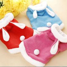 Newly Design Dog Warm Coats Rabbit Clothing Soft Pets Dogs Winter Clothes Puppy Outwear