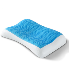 2016 high quality men soft memory latex orthopedic  pillows massage neck support particles promote deep sleep pillow