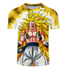 The new Dragon ball 3D T-shirt funny anime T-shirt Japan Hip hop dress Men's clothing With short sleeves(China)