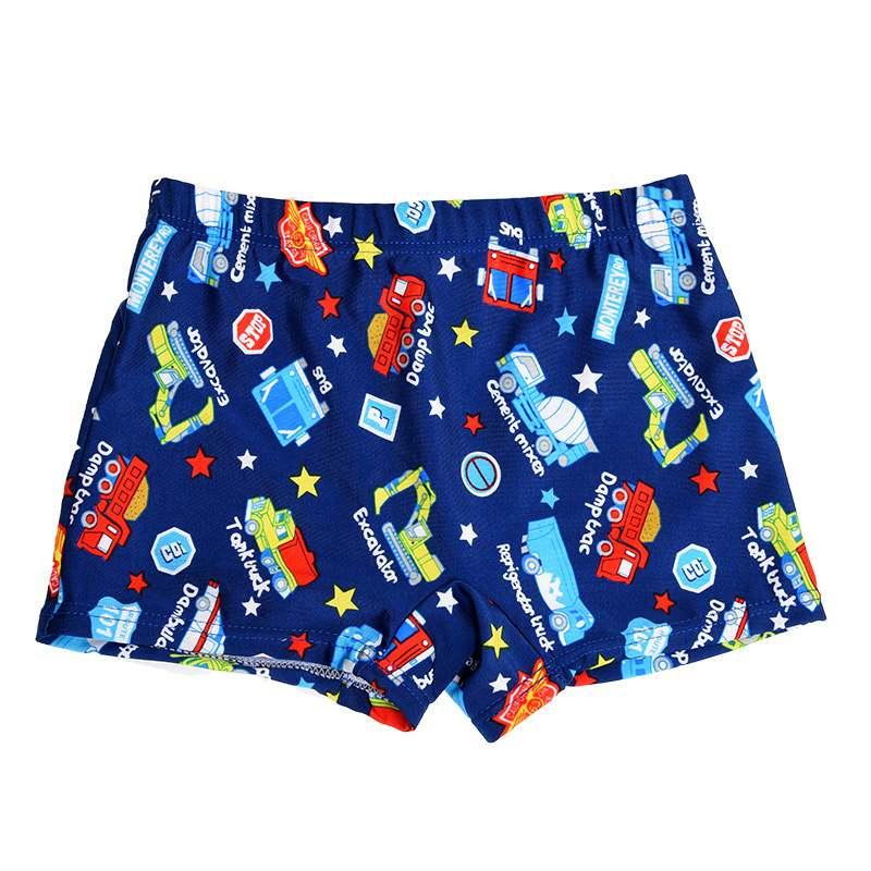 1PCS Little Boys Quick Dry Beach Swimwear Shorts Baby Kid Child Swimming Trunks Swimsuit Summer Cartoon Printed Toddler(China)