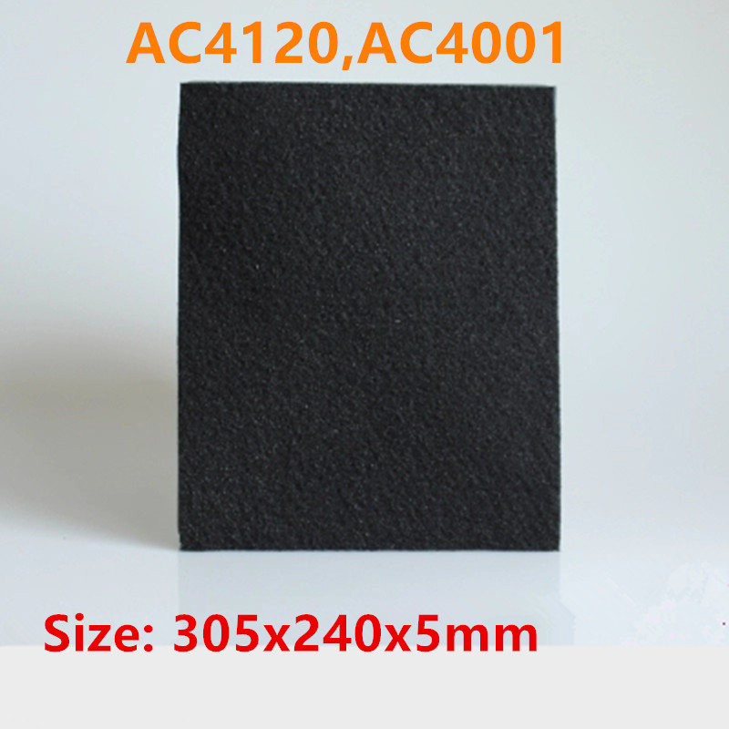 1pcs Air Purifier Parts HEPA Filter Activated Carbon  replacement for philips AC4120,AC4001 ey products e my creative wood table clock khaki 1 x aa
