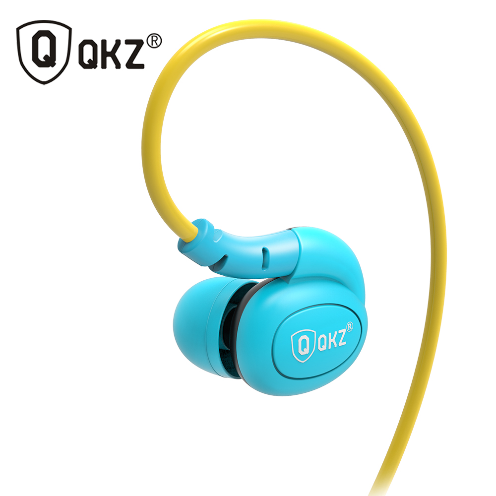 Earphone QKZ DM100 Sports Earphones Running Waterproof Sweatproof IPX5 with mic in-ear earhook Music Headset Mobile Stereo Bass sports earphones earhook wired earphone waterproof stereo music for xiaomi iphone5 6 7plus huawei android ios phone mp3 computer