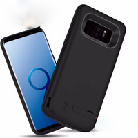 Rechargeable External Battery Cases For Samsung Galaxy S9 S9 Plus Portable Backup Power Bank Charger Cover