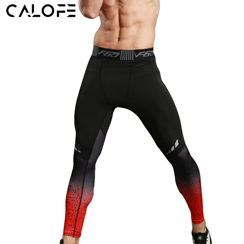Running Pants Running Sporting 2019 Spring New Men Running Pants Elastic Sports Leggings Male Jogging Pants Fitness Tights Bodybuilding Trousers Gym