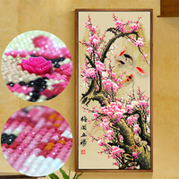 Special shaped,diamond painting,Plum,flowers,full,diamond embroidery,cross stitch,picture of rhinestones home decoration new