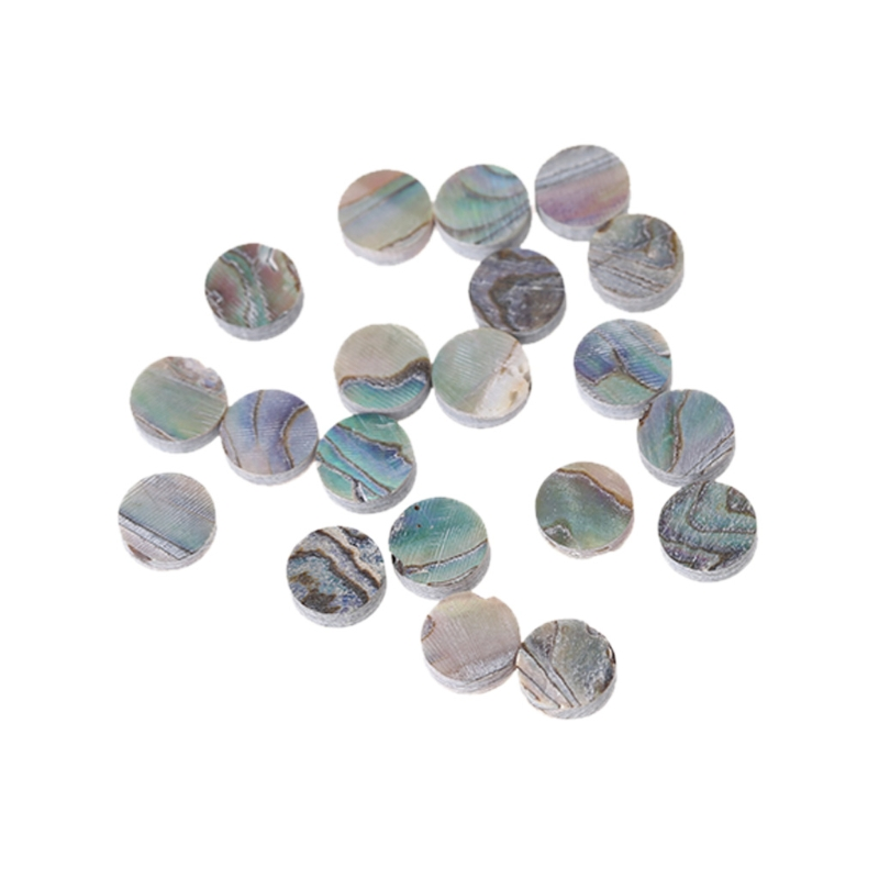 Yibuy 400 Pcs 4mm Colorful Abalone Inlay Fingerboard Dots For Mandolin Guitar Stringed Instruments