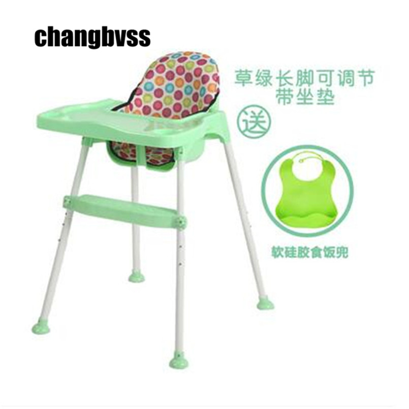 Cadeira Infantil Baby Feeding Highchair Security Infant Dinner Lunch Seat Kids Portable Dinner Chair Safety Dining High Chair dining chair child baby the design concept of high landscape equipp with feeding bottle water cup holder infant playing chair