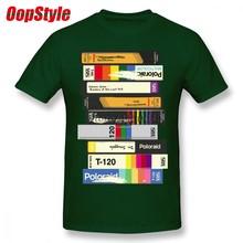 ddbd39bb Vintage Video Tape 80's Style T-shirt For Men Dropshipping Summer Short  Sleeve Cotton Plus Size Custom Team Tee 4XL 5XL 6XL
