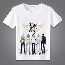 Japanese Anime T-shirt Unisex Shirt Tees Short Sleeve T-shirt Men Women O-Neck Summer Tops