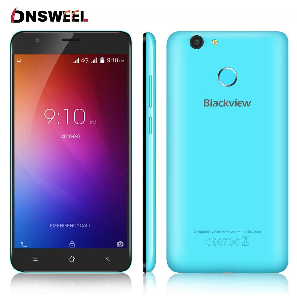 5 5inch HD Original Blackview E7 Smartphone MTK6737 Quad Core Cell phone 1GB RAM 16GB ROM