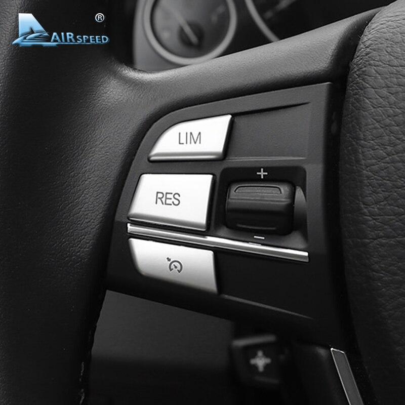 מהירות טיסה ABS כפתורי הגה מכונית כיסויים דקורטיביים אביזרי פנים ב. מ. וו X5 X3 X1 סדרת 1 2 3 4 5 7 רכב סטיילינג