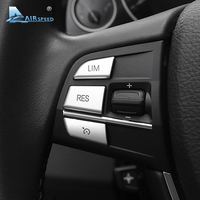 Airspeed ABS Car Steering Wheel Buttons Decorative Covers Interior Accessories For BMW X1 X3 X5 1