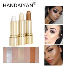 HANDAIYAN Face Concealer Contouring Bronzer Makeup Highlighter Illuminator Highlighter Brighten Stick Shimmer Eyeshadow Cosmetic(China)