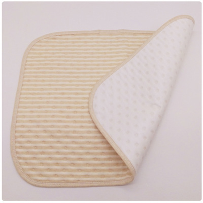 Colored Cotton Baby Insulation Pad Waterproof Breathable Baby Separate Urine Pad Cotton Newborn Supplies Baby Daily Necessities