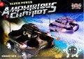 Hot sale 24883 4ch tiroteio tanque rc Anfíbio veículos anfíbios Combate apoiar o lançamento de um míssil Anfíbio tanque rc carro