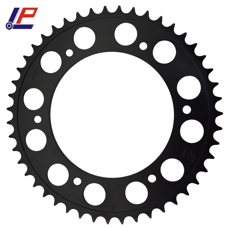 LOPOR 525 47T Motorcycle Rear Sprocket For F650 F800 GS F800R F800 R 09 10 F650GS