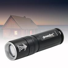 Tactical Torch Zoomable LED 3 Modes Flashlight Lamp Light fo