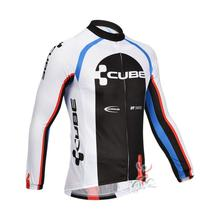 Cycling Jersey Long sleeve Bicycle CUBE Pro Team Wear Jacket Clothes Bike Clothing MTB maillot Ropa Ciclismo hombre I6