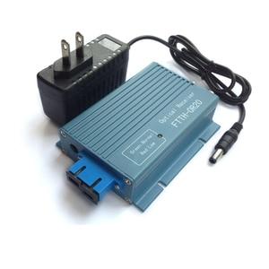 Image 2 - Alüminyum CATV FTTH AGC mikro SC UPC dubleks konnektör 2 çıkış portu WDM PON FTTH OR20 CATV Fiber optik alıcı