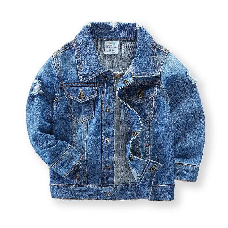 Hot Selling Newest Baby Denim Jacket 2019 Spring Children's