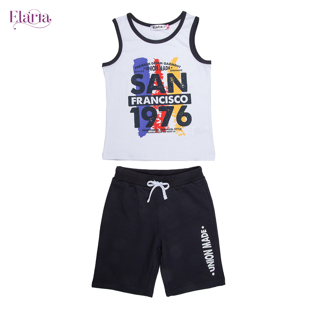 Children's Sets Elaria Psb-08-1 Children Clothing set of boys and girls db6077 dave bella autumn infant boys active clothing sets children suit high toddler outfits clothing suits